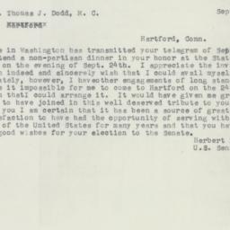 Telegram : 1956 September 6