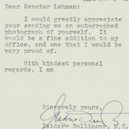 Letter : 1950 March 2