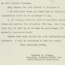 Letter : 1942 December 12