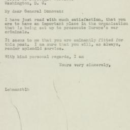 Letter: 1945 May 17