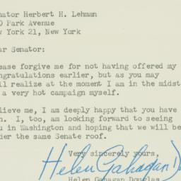 Letter : 1949 December 13