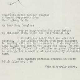 Letter: 1950 December 13