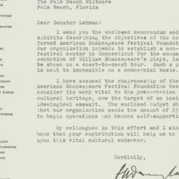 Letter : 1951 November 2