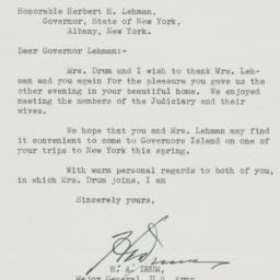 Letter: 1939 March 3