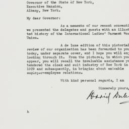 Letter : 1937 May 26