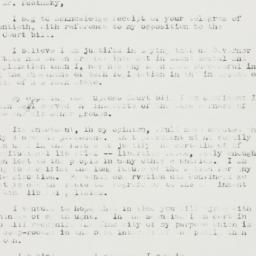 Letter : 1937 July 29