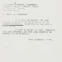 Letter : 1940 August 30