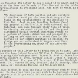 Letter : 1955 November 18
