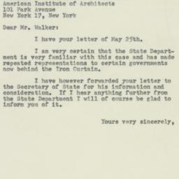 Letter : 1953 June 5