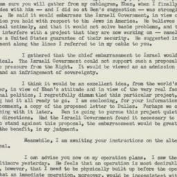 Letter : 1955 September 5