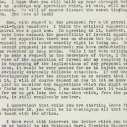 Letter : 1955 September 9