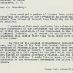 Letter : 1955 November 2