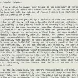 Letter : 1955 November 9