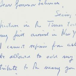 Letter : 1958 March 30
