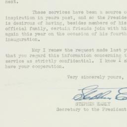 Letter: 1945 January 13