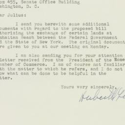 Letter : 1949 December 22