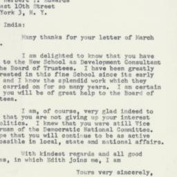 Letter : 1955 April 1
