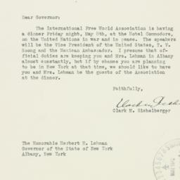 Letter : 1942 May 2