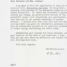 Letter : 1947 April 29
