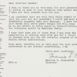 Letter : 1946 November 14