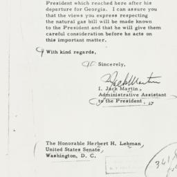 Letter : 1956 February 15