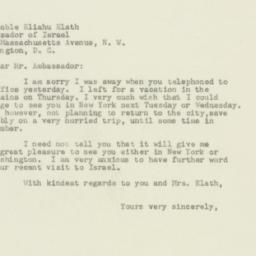 Letter : 1949 August 13