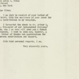 Letter : 1946 October 4