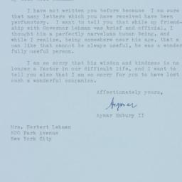 Letter : 1963 December 21