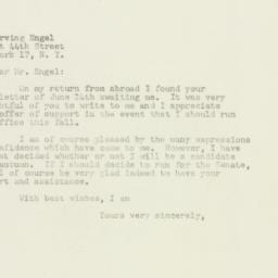Letter : 1949 July 5