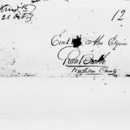 Document, 1819 October 21