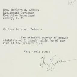 Letter : 1932 October 25