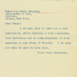 Letter : 1935 February 13