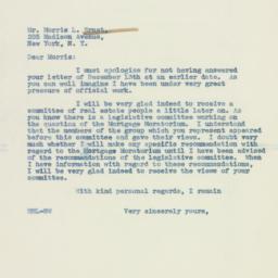 Letter : 1937 December 28