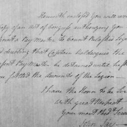 Document, 1779 May 30