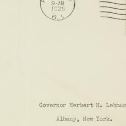 Envelope: 1936 May 4