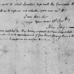 Document, 1776 November 19