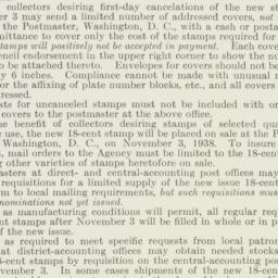 Administrative Record: 1938...