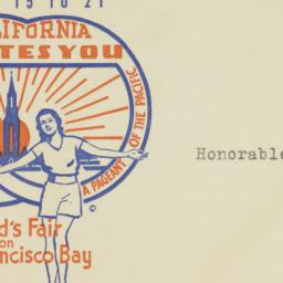 Envelope: 1938 May 17