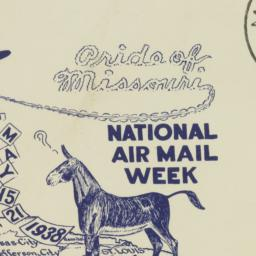 Envelope: 1938 May 19