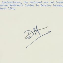 Memorandum : 1950 March 21