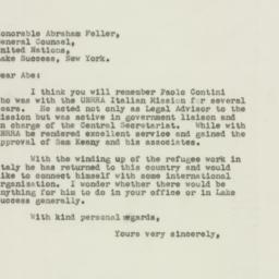 Letter : 1948 June 3
