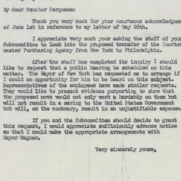 Letter : 1954 June 3