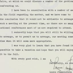 Letter : 1940 November 12