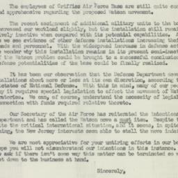 Letter: 1950 August 16