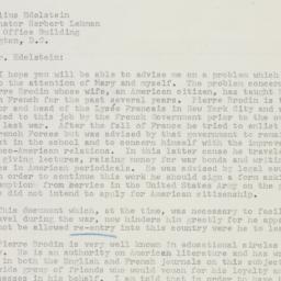 Letter : 1955 July 21