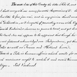 Document, 1782 September 26
