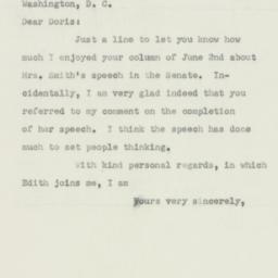 Letter: 1950 June 5