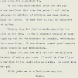 Letter: 1960 June 20