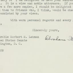 Letter : 1950 February 10