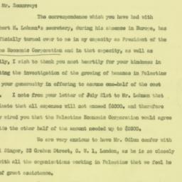 Letter : 1926 July 26